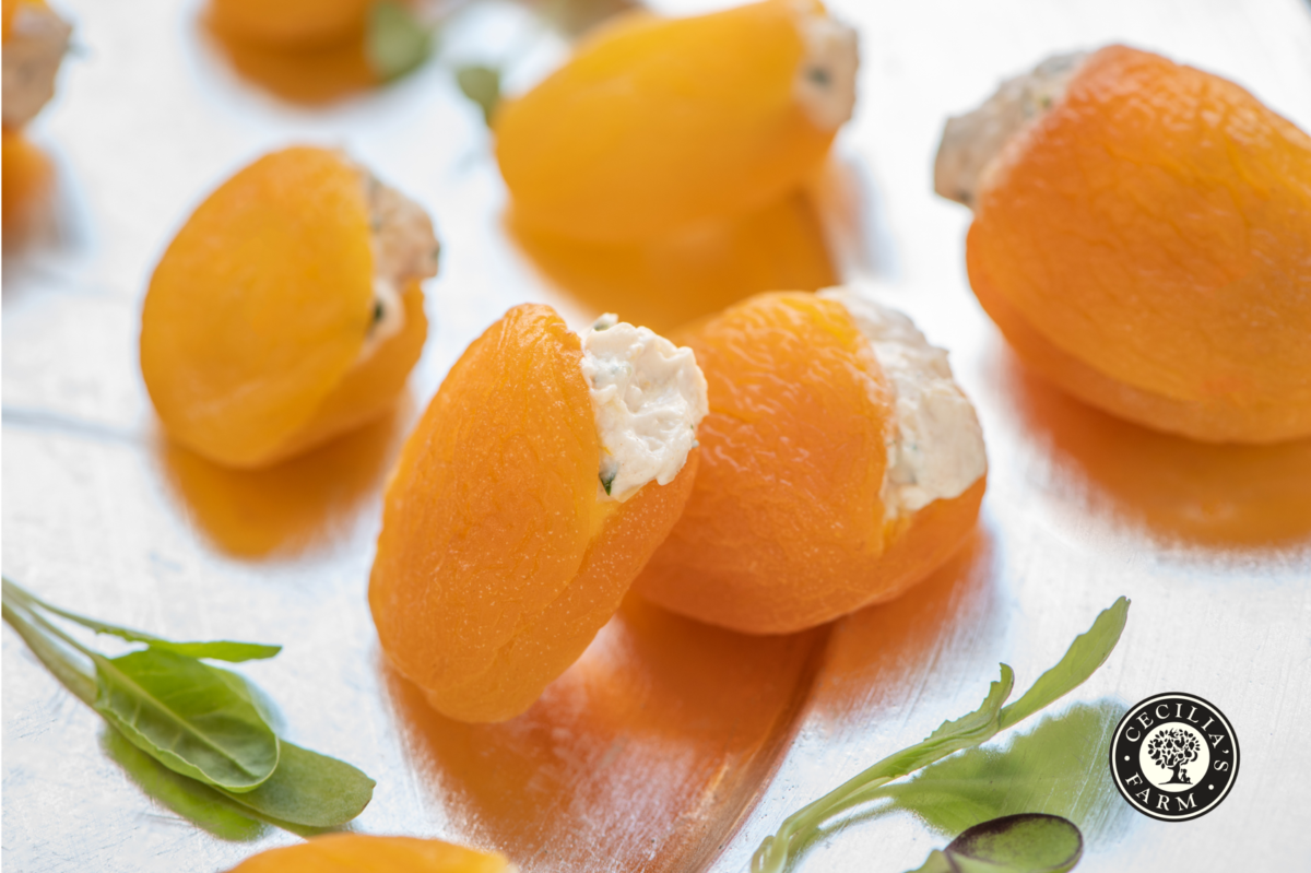 Stuffed Turkish Apricots recipe